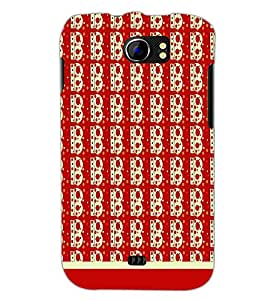 PrintDhaba B Pattern D-1823 Back Case Cover for MICROMAX A110 CANVAS 2 (Multi-Coloured)