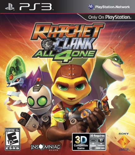 Ratchet and Clank: All 4 One - Playstation 3 - 1