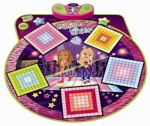 Jeu Enfants Danse Musique Mixeur Electronique Tapis de Jeu et Lecteur CD Plug-In