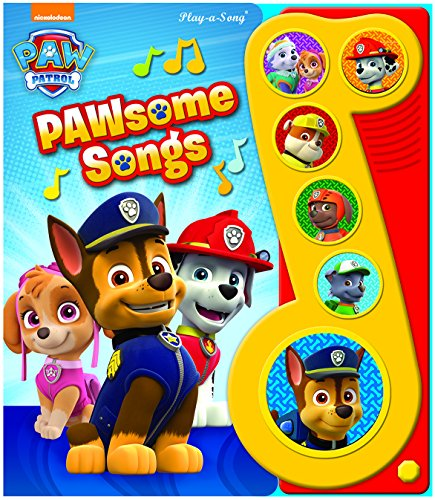 Paw Patrol Little Music Note (Paw Patrol: Play-a-Song)