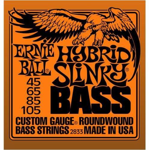 Ernie Ball 2833 Hybrid Slinky Bass Nickel Wound .045 - .105