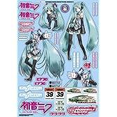 GSRキャラクターカスタマイズシリーズ 初音ミク 1/10scale用シールセット01