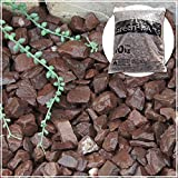 GA STONE 砂利 チョコレートロック 茶砕石 3cm 30kg