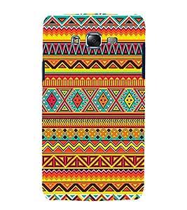 Multi Colour Pattern 3D Hard Polycarbonate Designer Back Case Cover for Samsung Galaxy J7 J700F (2015 OLD MODEL) :: Samsung Galaxy J7 Duos :: Samsung Galaxy J7 J700M J700H