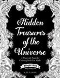 img - for Hidden Treasures Of The Universe: Midnight Edition: A Mystically Beautiful Coloring Book For Adults book / textbook / text book