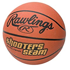 Buy Rawlings Shooter's Seam Youth Basketball by Rawlings