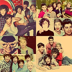 One Direction 14x14/24x24 Artists ArtPrint Poster 051C by CCEE