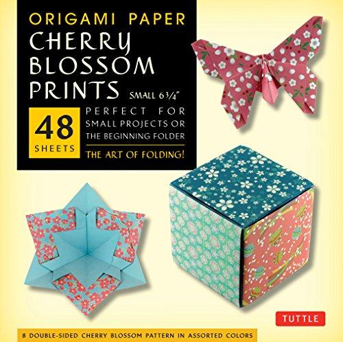 Origami cherry blossoms (Origami Paper)
