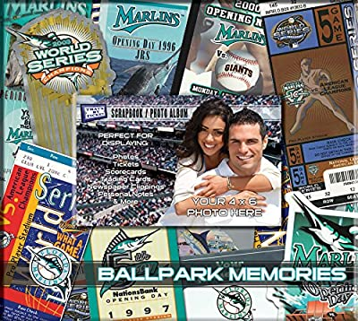 MLB 8x8 Scrapbook Photo Album