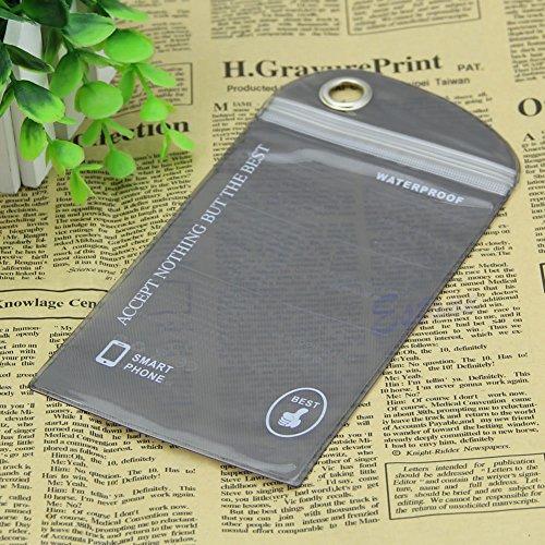 Bestdeal® Wasserdichte Hülle Tasche Case für Mobile Handy Kamera (Schwarz)