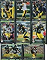 Pittsburgh Steelers 2015 Topps NFL Football Complete Regular Issue 21 Card Team Set Including 3 Ben Roethlisberger Cards, Antonio Brown, Leveon Bell Plus