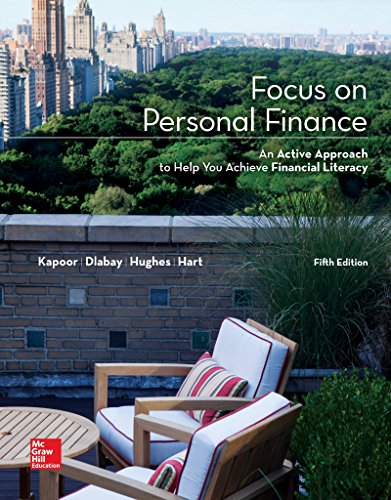 Loose Leaf for Focus on Personal Finance (Mcgraw-Hill/Irwin Series in Finance, Insurance, and Real Estate) (Mcgraw Hill Personal Finance compare prices)
