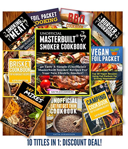 Recipe Collection Book: 10 Titles - Collection of Recipe Books by Katya Johansson