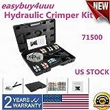 SD&ZC Pex Crimping Tool Air Tool Kit Crimper Kit, 71500 Hydraulic Hose Crimper Tool A/C Hose Crimper Kit Fit for Auto Air Conditioning Repair