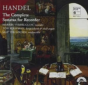 Handel: The Complete Sonatas for Recorder
