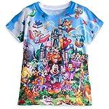 ディズニー(Disney) ウォルトディズニーワールド Tシャツ 女の子用 子供 ガ[並行輸入品] S(身長107-122cm)