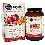 Garden of Life MyKind Organics Organic Plant Collagen Builder Support for Beautiful Hair Skin and Nail 60 Vegan Tablets