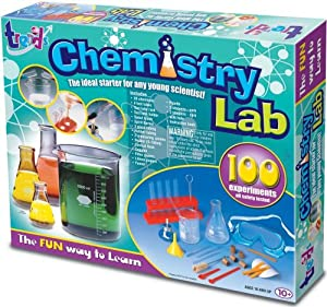 UK TREND CHEMISTRY SET KIDS TOY KIT CHILDREN 100 EXPERIMENTS ACTION SCIENCE GIFT