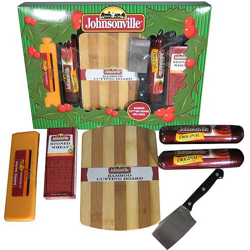Johnsonville Sausage, Cheddar Cheese and Bamboo