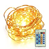 OxyLED Dimmable LED String Lights Wire Lights for Garden, Patio, Party, Indoor & Outdoor Decoration