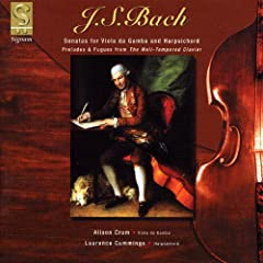 J.S. Bach: Sonatas for Viola da Gamba and Harpsichord