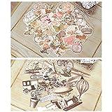 Scrapbook Expedition Ephemera Vintage Pack Scrapbooking Supplies Embellishments Die Cut Old Time Assorted Designs 50 Pieces (Color: Ephemera, Tamaño: 12
