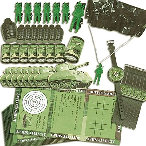 Amscan-Adventurous-Value-Pack-of-Birthday-Party-Favors-Toy-and-Prize-Giveaway-48-Piece-Camouflage-Green-2-14-X-78