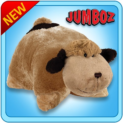 Pillow Pets Authentic 30 Snuggly Puppy Folding Plush Pillow Pet Jumbo - ConnorArmstrongSuDr
