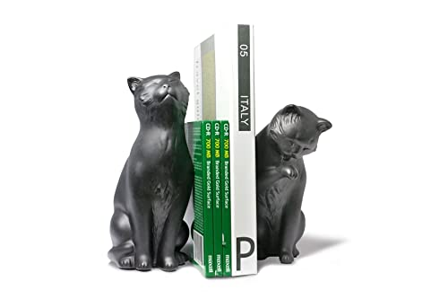 Mini-Sculpture Itchy Cats Bookends