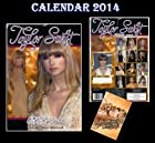 TAYLOR SWIFT 2014 CALENDAR BY DREAM + FREE TAYLOR SWIFT FRIDGE MAGNET