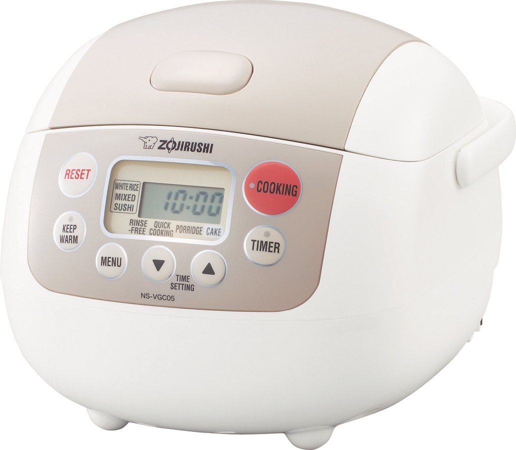 Zojirushi NS-VGC05 Micom Electric Rice Cooker and Warmer