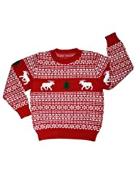 Ugly Christmas Sweater Childrens Skedouche