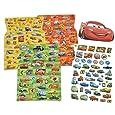 250tlg. XL - Set Sticker / Aufkleber - Disney Cars Lightning McQueen - Kinder Kind groß z.B. für Stickeralbum