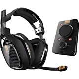 ASTRO Gaming A40 TR Headset + MixAmp Pro TR for PlayStation 4 (Renewed) (Color: Black)