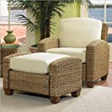 Home Styles 5401-100 Cabana Banana Chair and Ottoman, Honey Finish