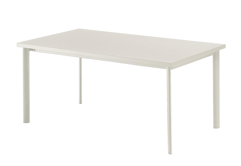 Emu 303072300 Star Tisch 307, 90 x 160 cm, pulverbeschichteter Stahl, weiss günstig kaufen