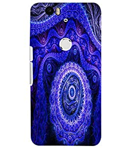 HUAWEI NEXUS 6P DESIGN Back Cover by PRINTSWAG