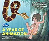Disney 2016 Daily Calendar: A Year of Animation