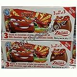 1 x Zaini Disney Cars chocolate egg - 3 per box- Made in ITALY