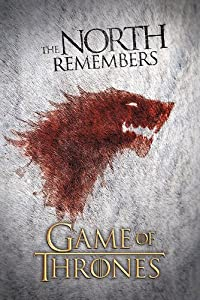 Game Of Thrones Poster Wolf The North Remembers (61cm x 91,5cm)