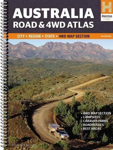 Australia Road & 4WD Atlas Spiral 2015: HEMA.A.040SP