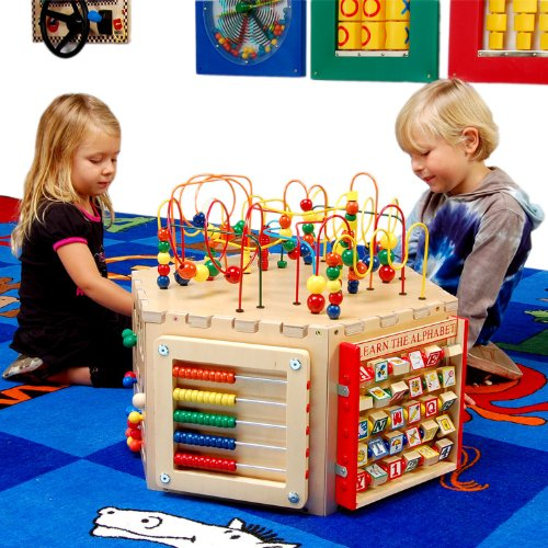Anatex Six-Sided Play Cube Activity Center