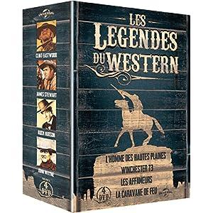 Les Légendes du western: L'homme des hautes plaines + Winchester 73 + Les affameurs + La caravane