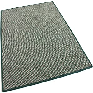 3' ROUND - Stone Garden - Indoor/Outdoor Area Rug Carpet, Runners & Stair Treads with a Premium Nylon Fabric FINISHED EDGES .