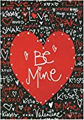 Be Mine Valentine's Day Garden Flag Love Kisses Hearts Love Cupid 12.5