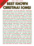 120 Best Known Christmas Songs: Piano...