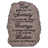Serenity Prayer Resin Garden Stepping Stone