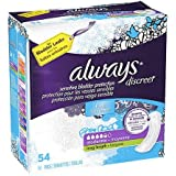 Discreet, Incontinence Pads, Moderate, Long Length, 54 Count