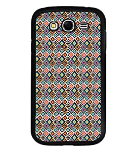 iFasho Animated Pattern design colorful in royal style Back Case Cover for Samsung Galaxy Grand