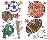 Brewster ST99814 Crayola Sports Wall Stickers